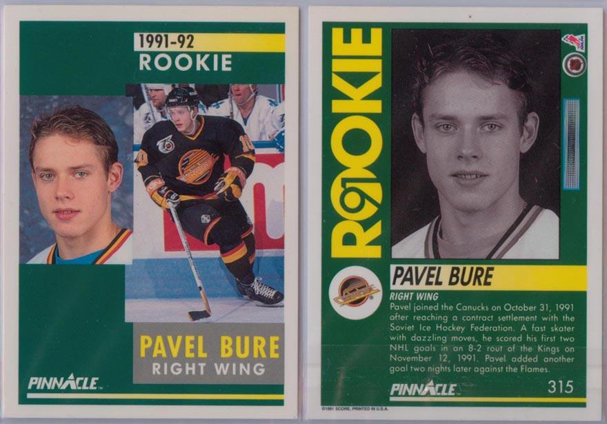 1991-92 Pinnacle # 315