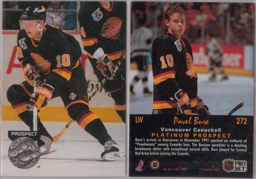 1991-92 Pro Set Platinum # 272