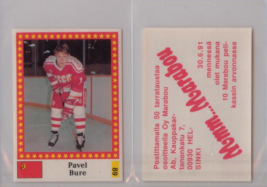 1991-92 Semic Finnish WC Stickers # 89