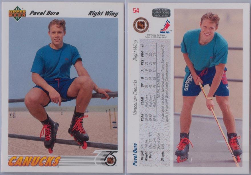 1991-92 Upper Deck # 54