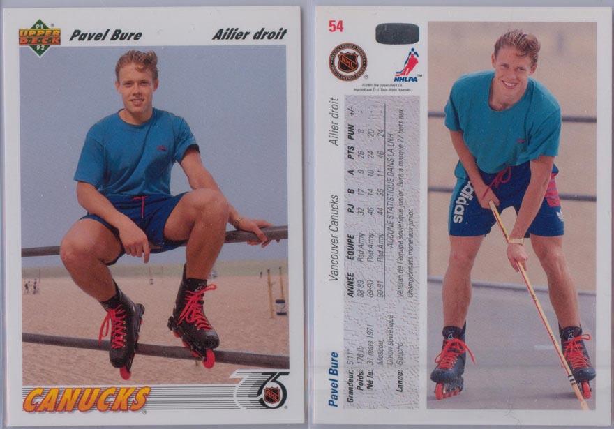 1991-92 Upper Deck French # 54