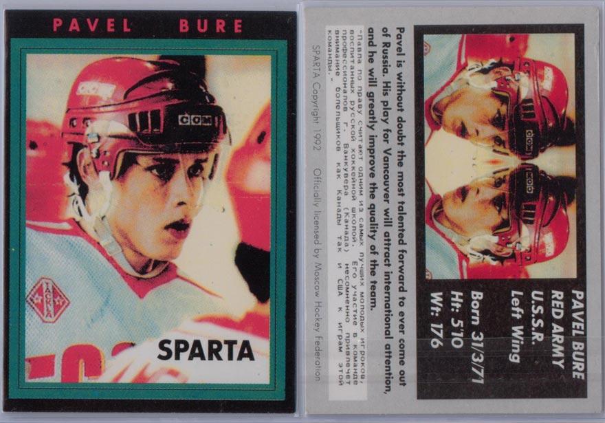 1992 Sparta # NNO