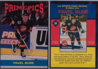 1992-93 Prime Pics Magazine Insert # 31