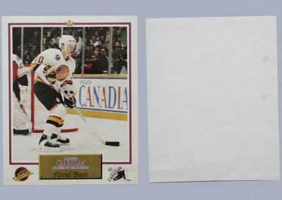 1991-92 Canucks Molson Canadian # 2