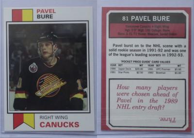1992-93 Pocket Price Guides # 81