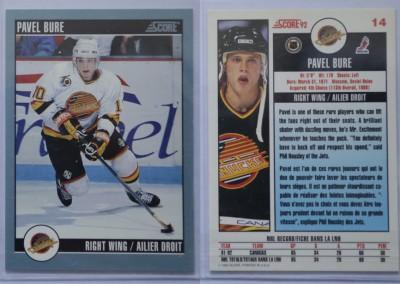 1992-93 Score Canadian # 14