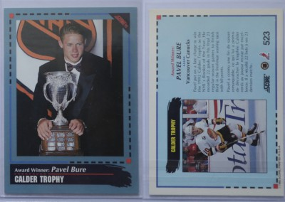 1992-93 Score Canadian # 523