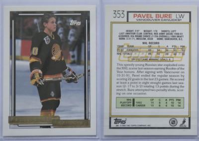 1992-93 Topps Gold # 353G
