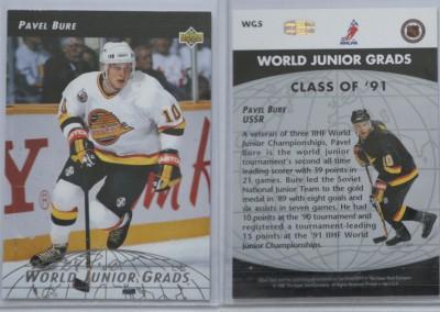 1992-93 Upper Deck World Junior Grads # WG5