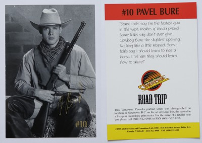 1992-93 Canucks Road Trip Art # 4