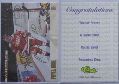 1993-94 Classic Autographs # AU2 214/900