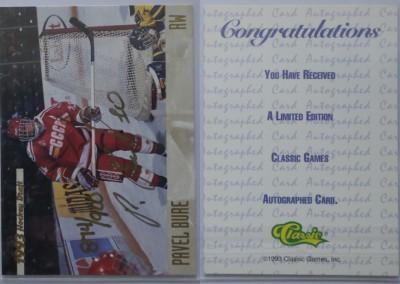 1993-94 Classic Autographs # AU2 874/900