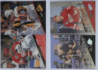 1993-94 Leaf Uncut Sheet # 10
