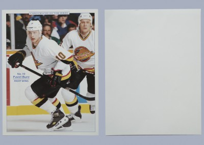 1994-95 Canucks Program Inserts # 5