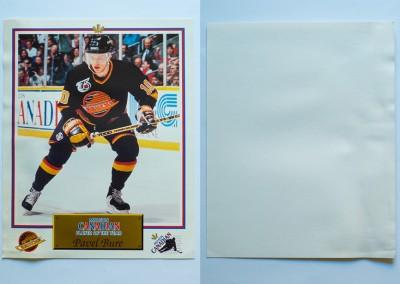 1991-92 Canucks Molson Canadian # 3