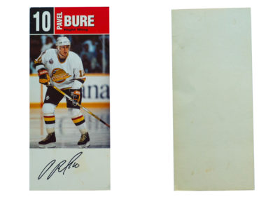 1993-94 Canucks Autograph Cards # NNO