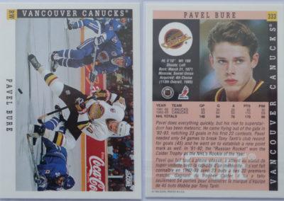 1993-94 Score Canadian # 333