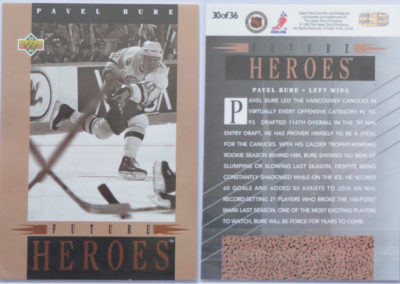 1993-94 Upper Deck Future Heroes # 30
