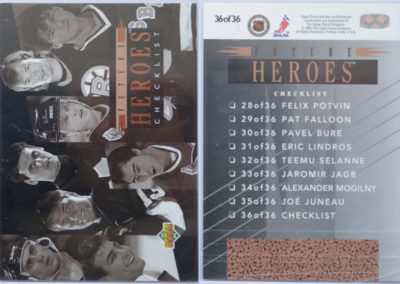 1993-94 Upper Deck Future Heroes # 36
