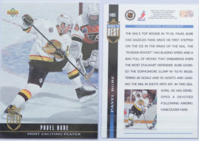 1993-94 Upper Deck NHL's Best # HB5