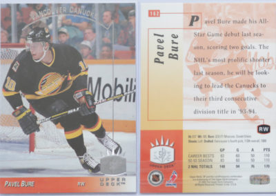 1993-94 Upper Deck SP # 162