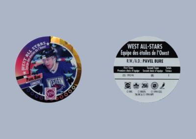 1994-95 Canada Games NHL POGS # 266