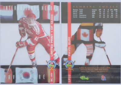 1994-95 Classic Pro Prospects Int Heroes # LP22
