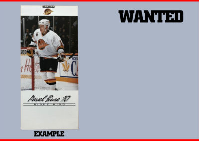 1991-92 Canucks Autograph Cards # 2